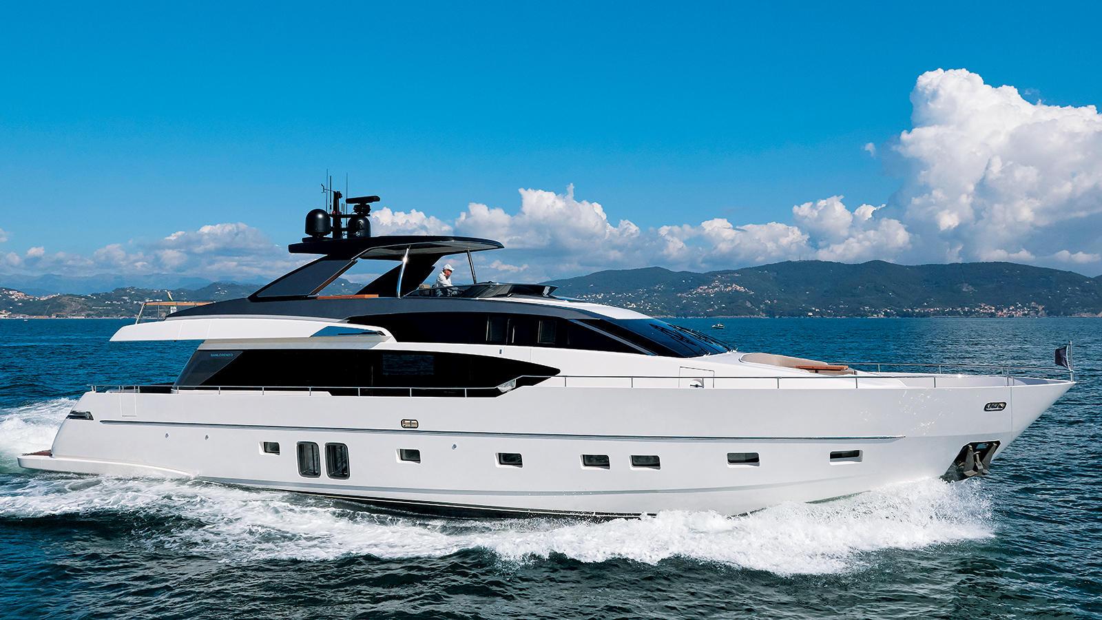 Sanlorenzo Motor Yacht Sevenstar Sold