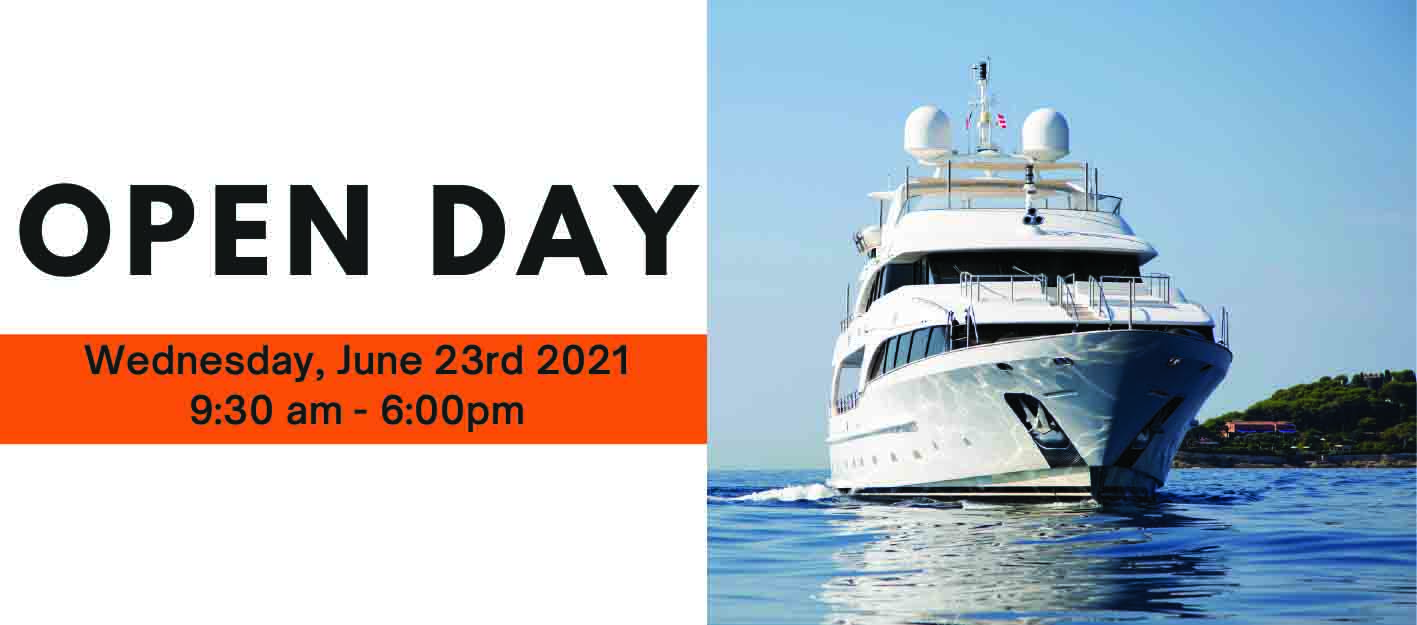 Visit us at the NICE SUPERYACHT Open Day