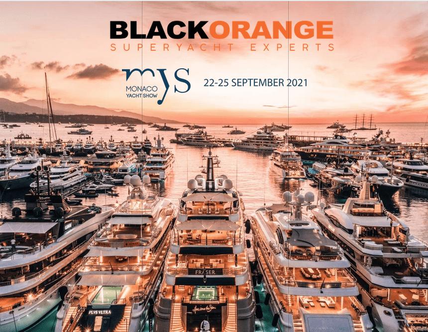 Meet us at the Monaco Yacht Show I Sept. 22-25, 2021